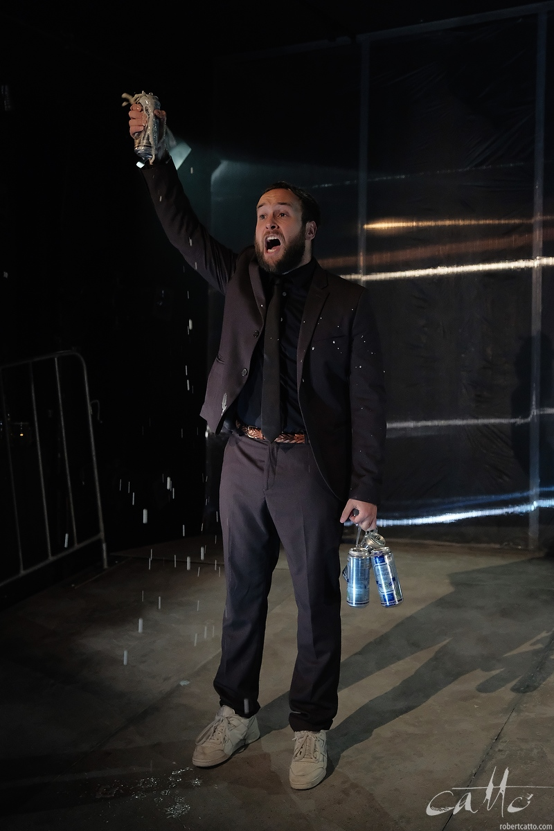 David Harrison as Ted in Wasted