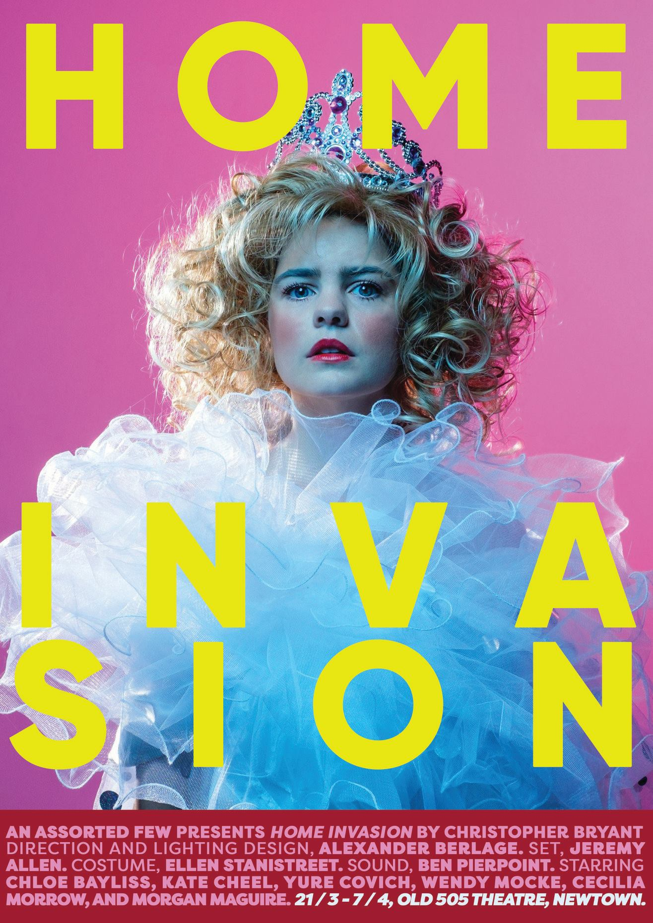 Chloe Bayliss in Home Invasion (poster version), taken with the Fuji X-T2 and the 35mm f/1.4 lens