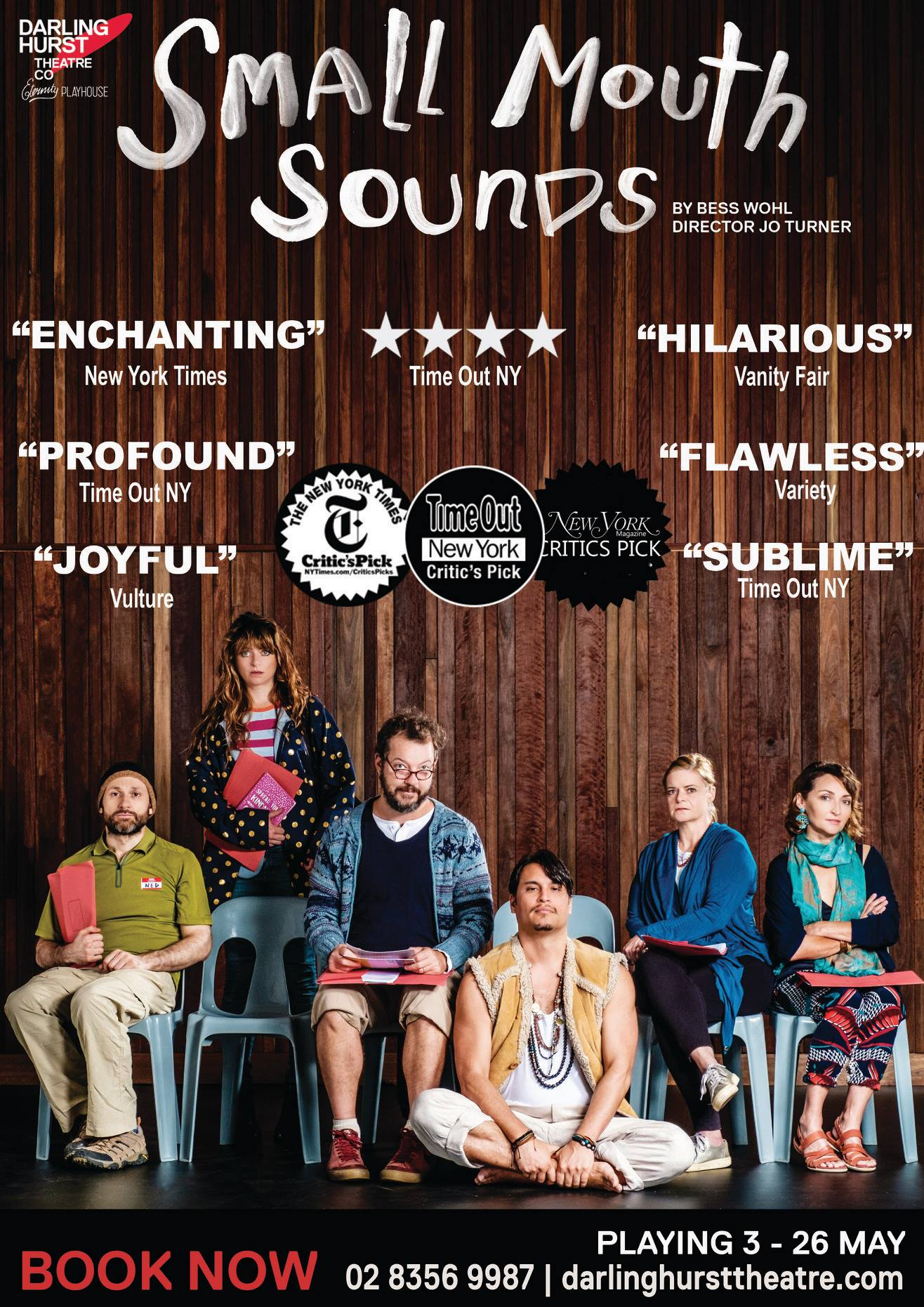 Small Mouth Sounds at Darlinghurst Theatre Company