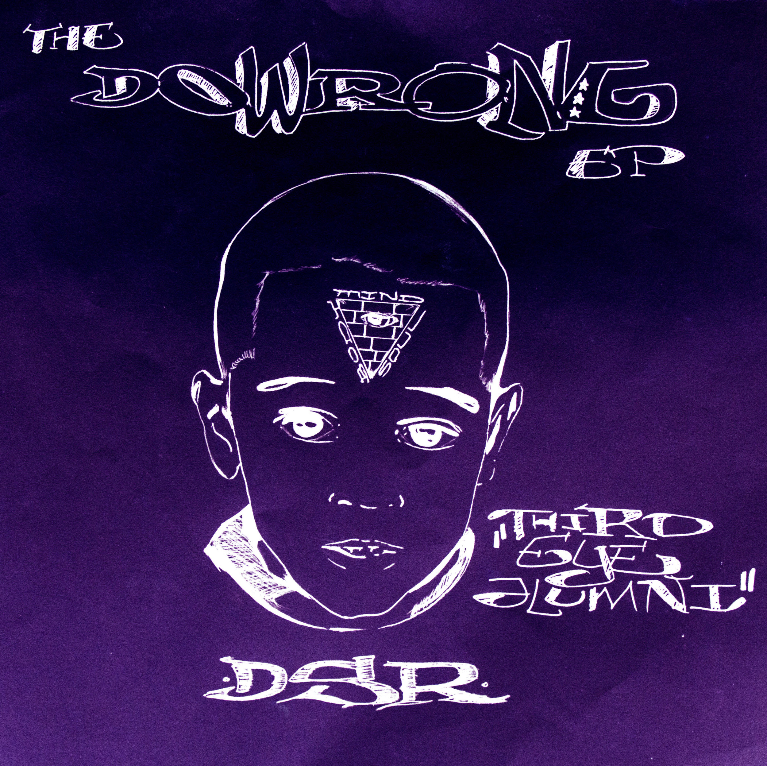 The Dowrong Ep: Slowed & Chopped  by Tha Real Chino - 2015.