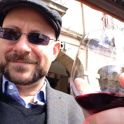 Me. Wine. We're not strangers.