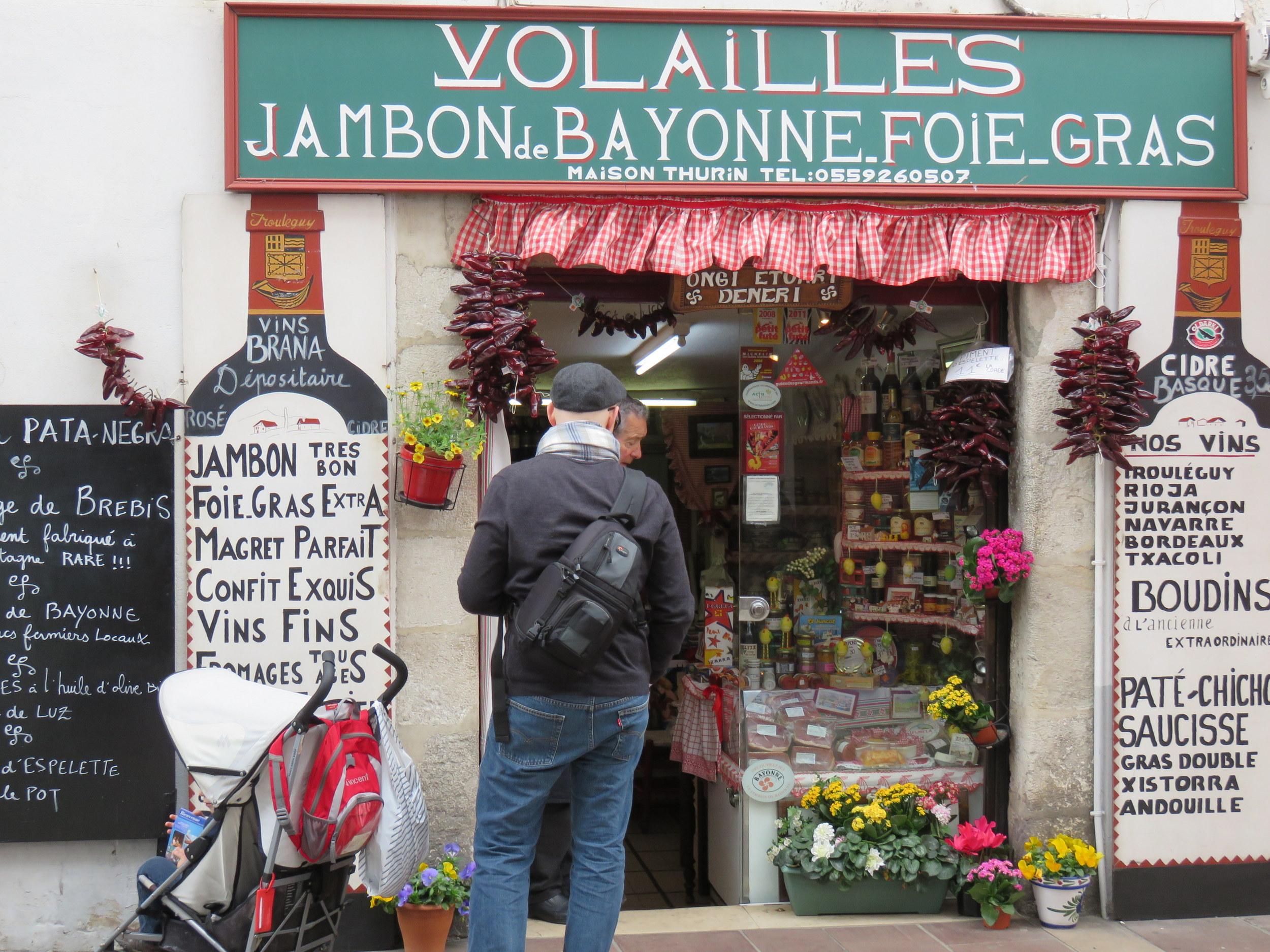 Maison Thurin, purveyor of Basque specialities from a tiny shop on the main pedestrian street in Saint-Jean-de-Luz. (32, rue Gambetta, 05 59 26 05 07)