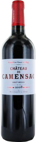 Un super vin rouge de la région Haut Médoc : Château de Camensac. Moi, j'ai eu celui de 2008, mais les autres millésimes sont aussi bien notés. À déguster sans doute.