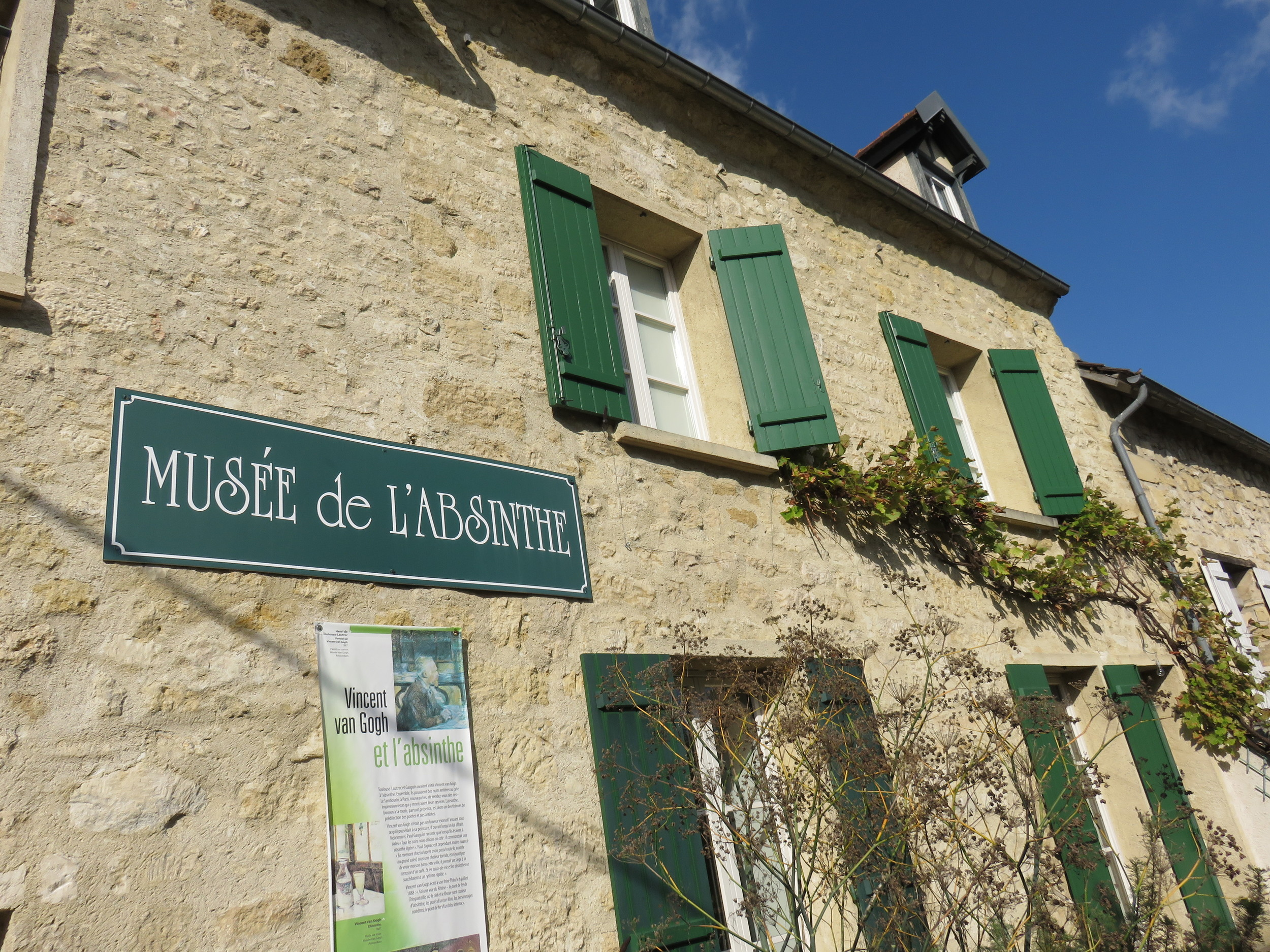 The Absinthe Museum in Auvers-sur-Oise. Yes, they do tastings!