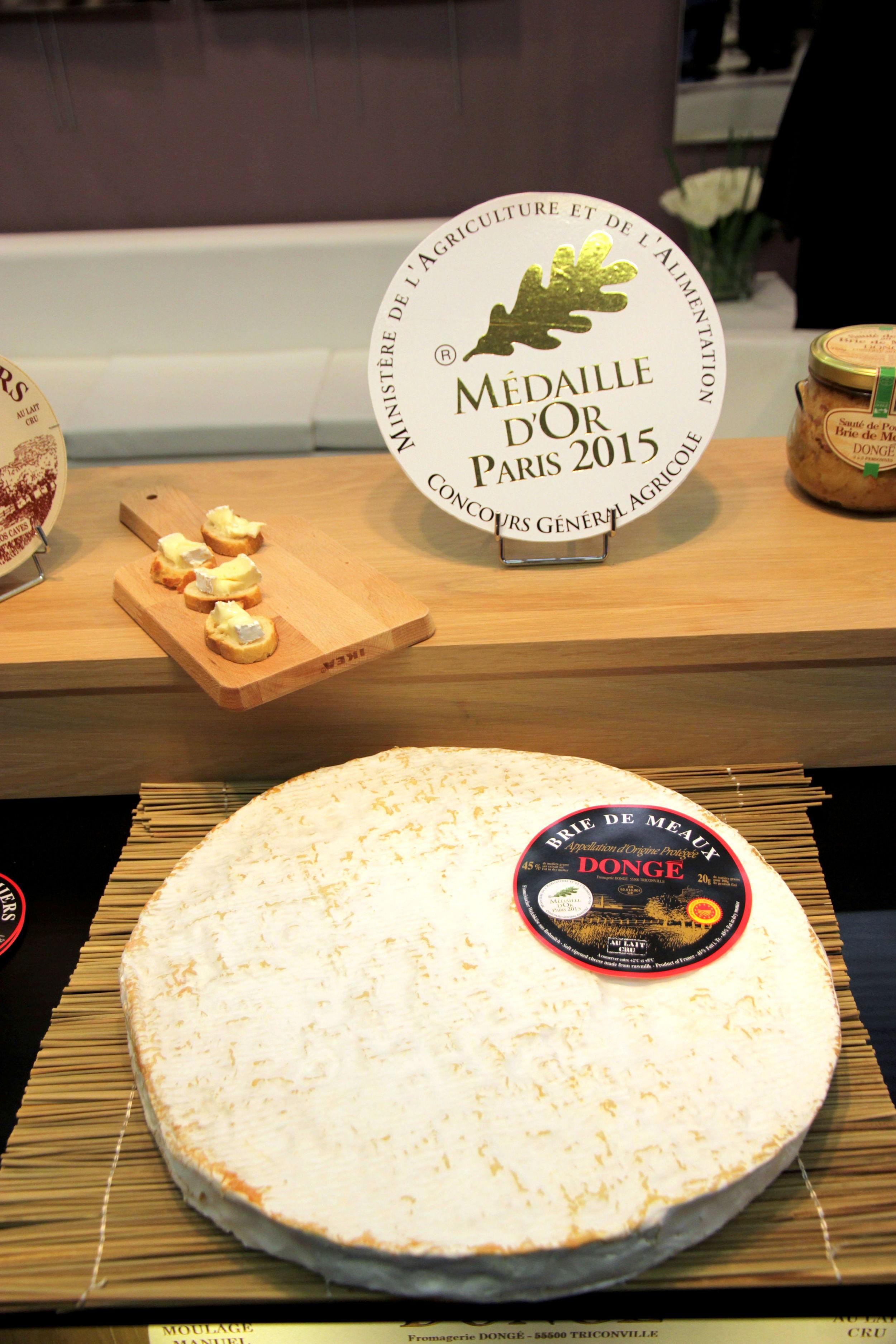 Le Brie de Meaux, façon Dongé