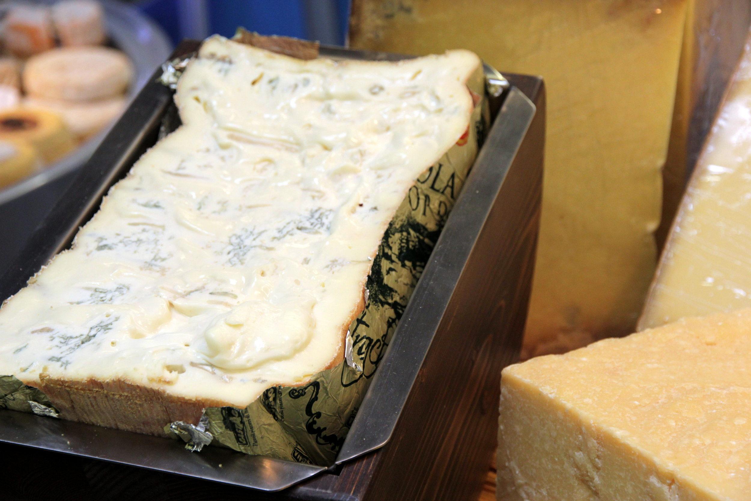 Le gorgonzola à la cuillère, très tendance au Salon