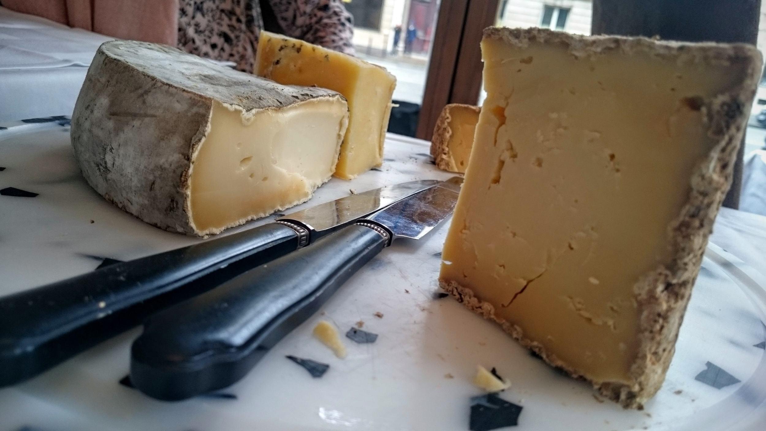 Les fromages du Relais Haussmann, ni goûteux ni bien traités.