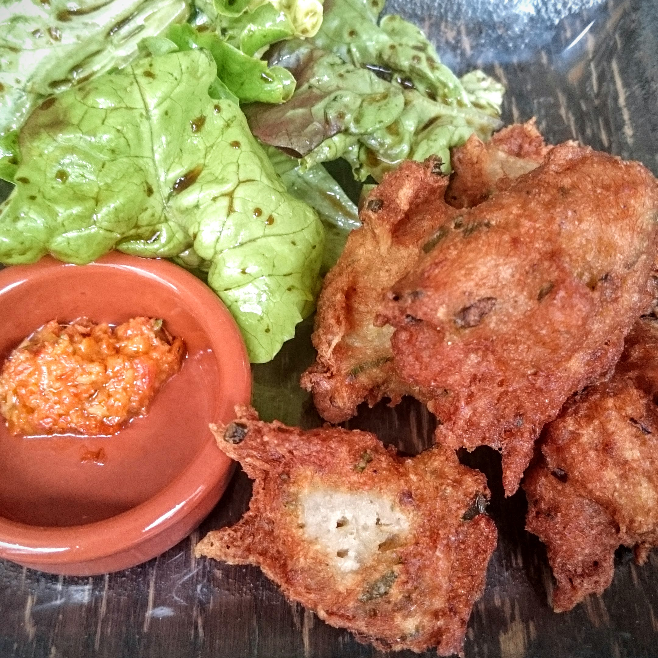 Salted cod fritters (from a previous visit)