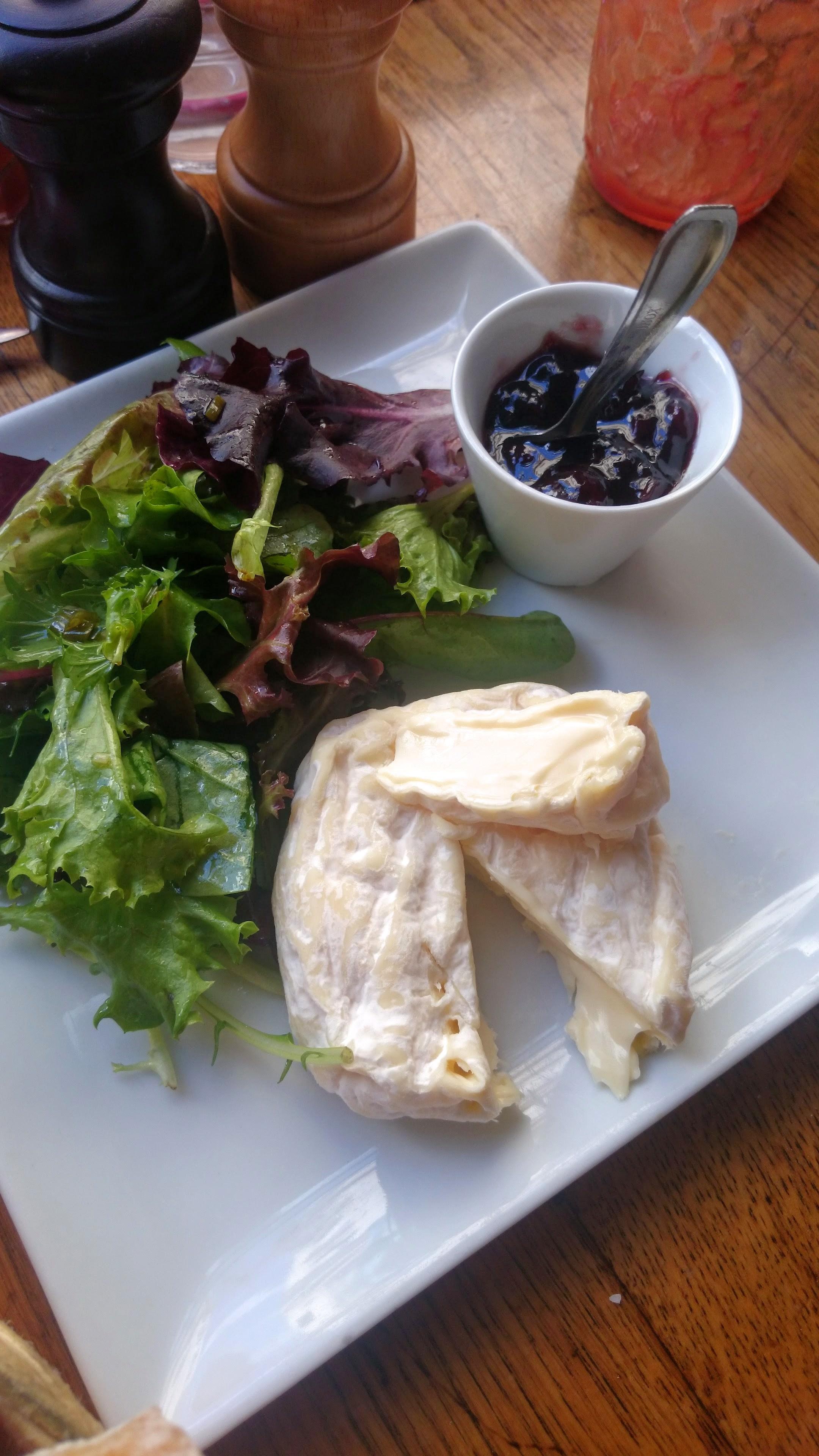 Saint-Félicien. Ripe, creamy, and delicious.