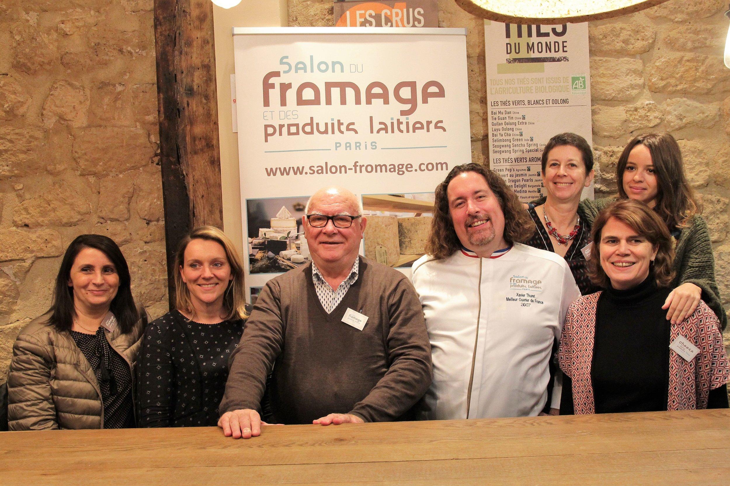 The Salon du Fromage team.