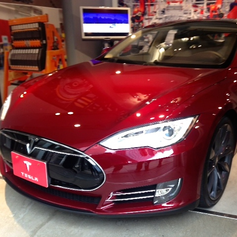 This is the first Model S to come to Japan