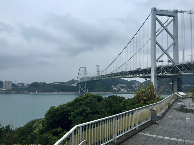 You may recognize this bridge from a past post. I add it here to preview the weather that I was about to deal with.