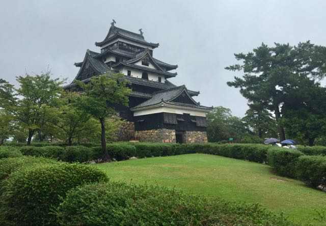 Matsue Castle: my second visit (first was 1987). It's one of my favorite castles because it's not rebuilt.