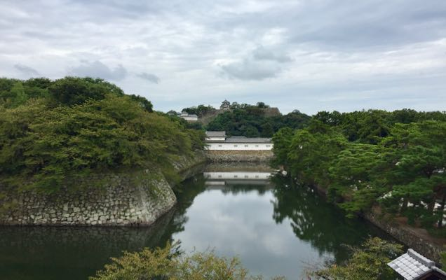 Hikone Castle during the day