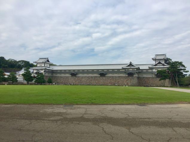 Kanazawa Castle Gate outside