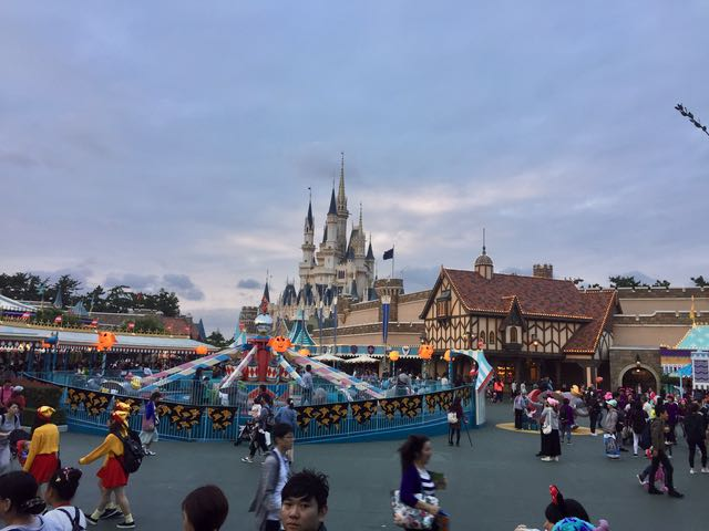Tokyo Disneyland has one of the better castles in the Disney realm.