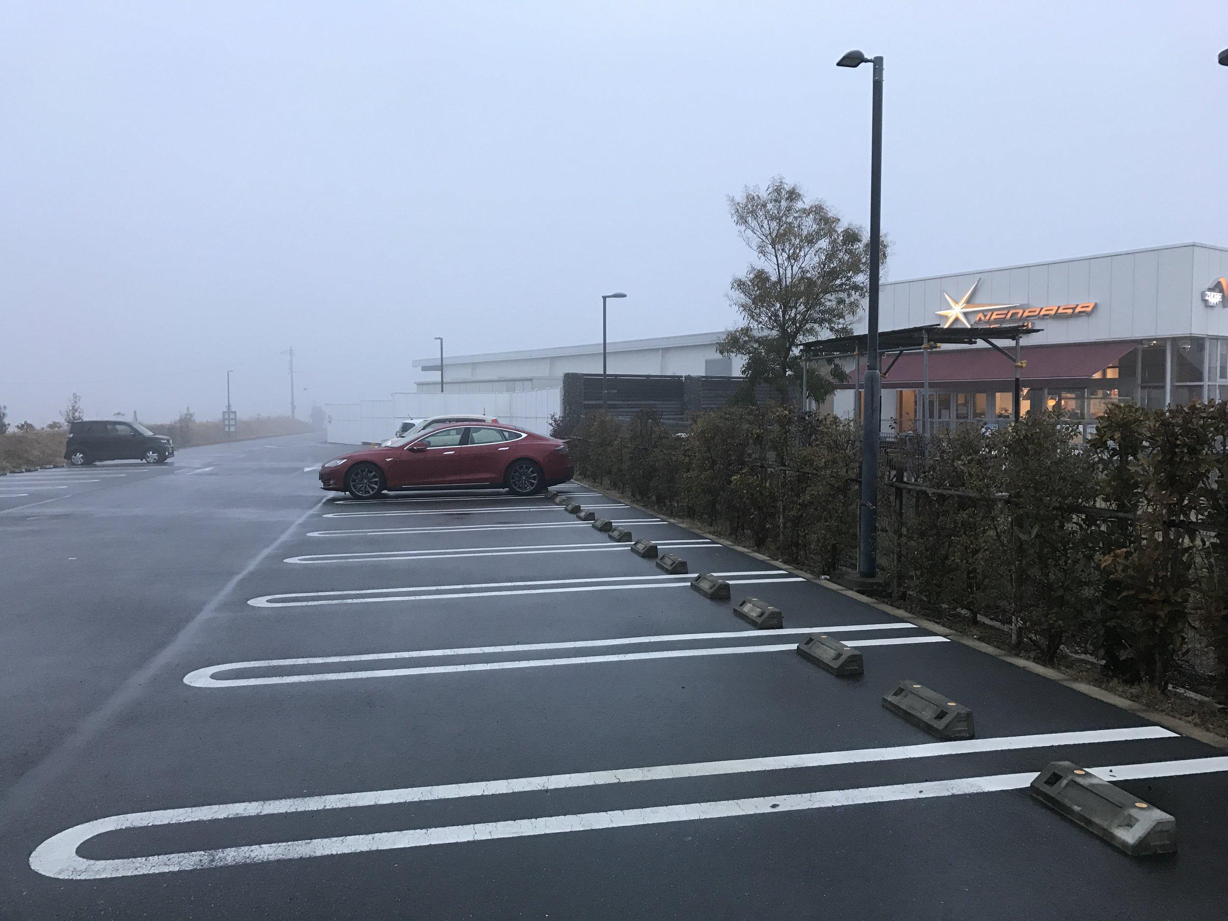 Foggy morning at the Hamamatsu SA