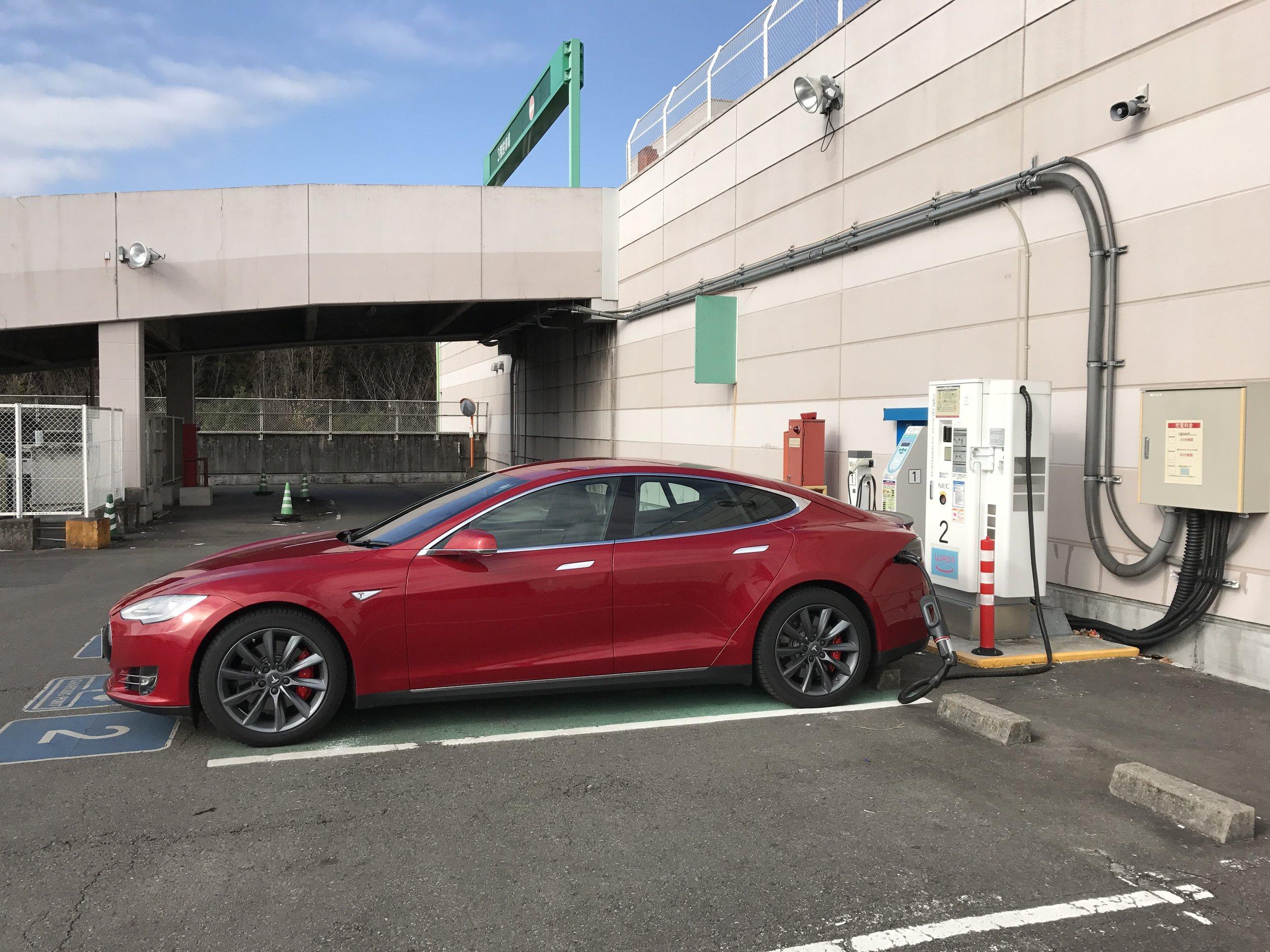 50 kW CHAdeMO at Aeon mall near Nikko