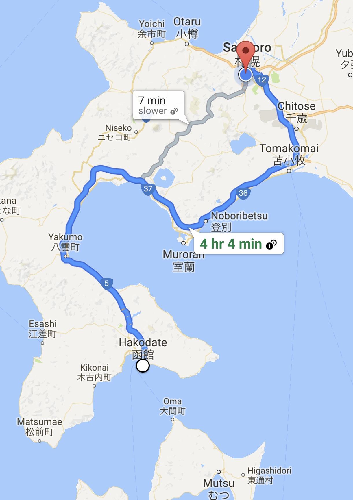 Day six trip to Sapporo