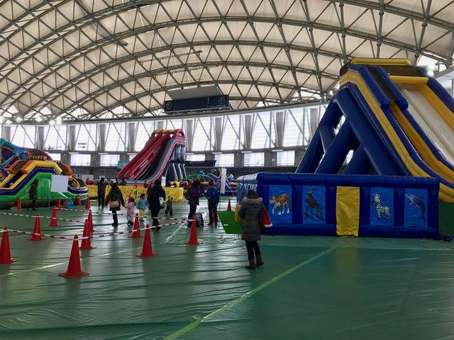 Kids' area inside