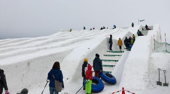 Big slide for the big kids