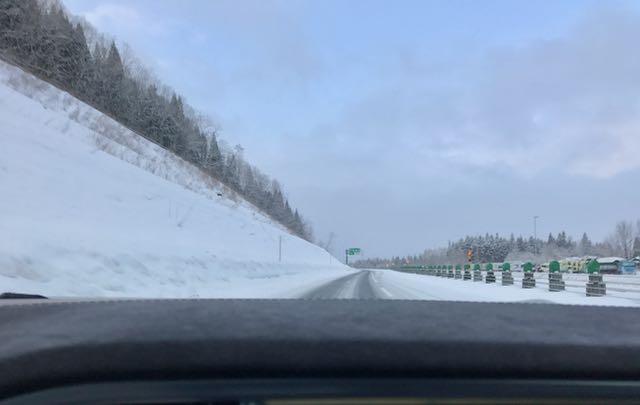 Road conditions from Aomori to Morioka