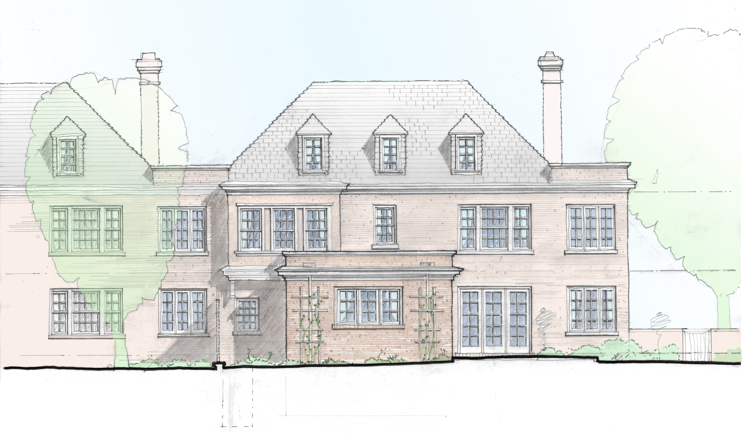 Rear Elevation-Option 2
