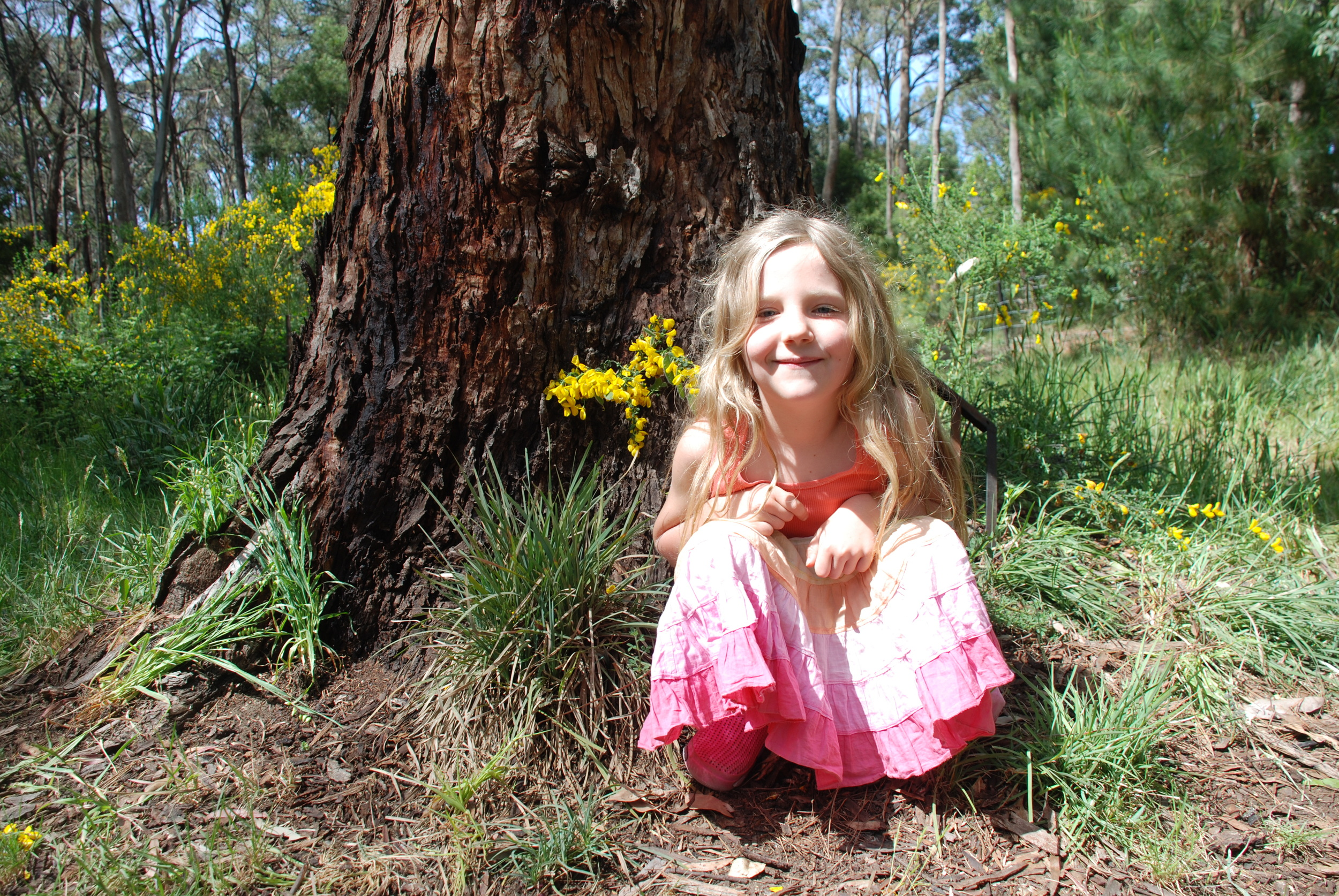A Fairy By Her Fairy House.jpg