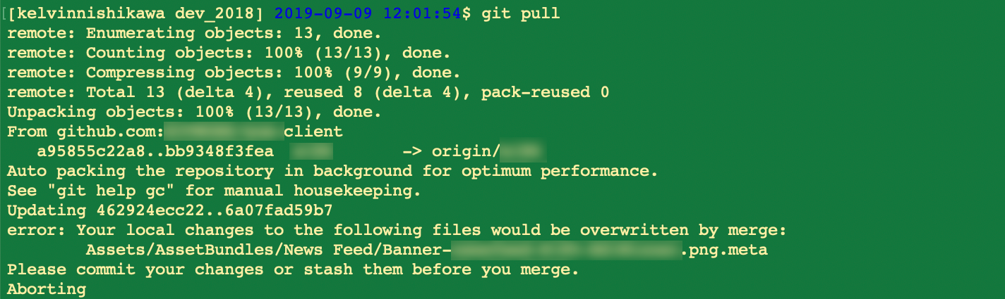 I don't care about this file, but it's blocking my git pull.