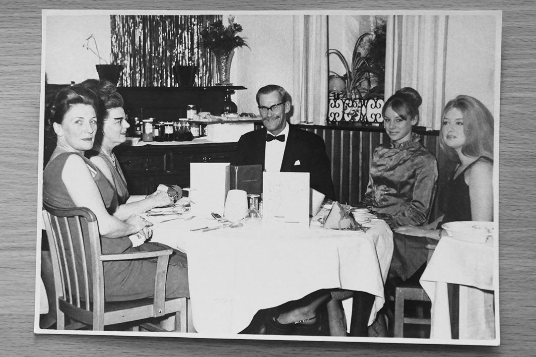 The Cavendish Hotel Torquay, 1973