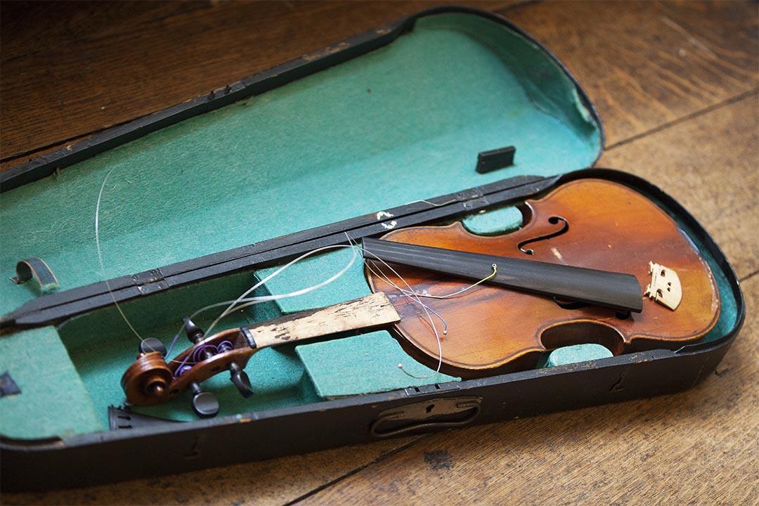 Martine's first violin