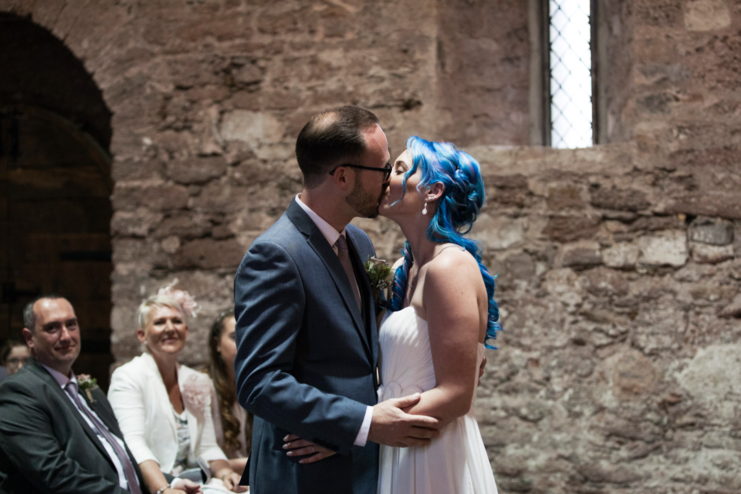 The Spanish Barn wedding Torquay