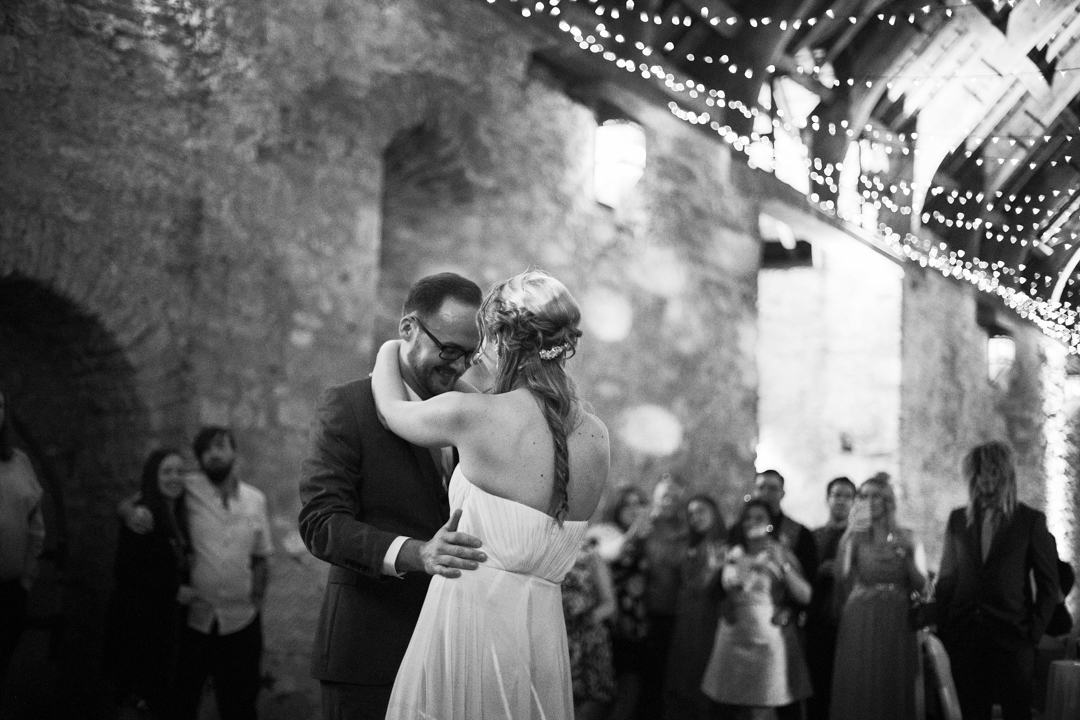 Torre Abbey wedding_the first dance