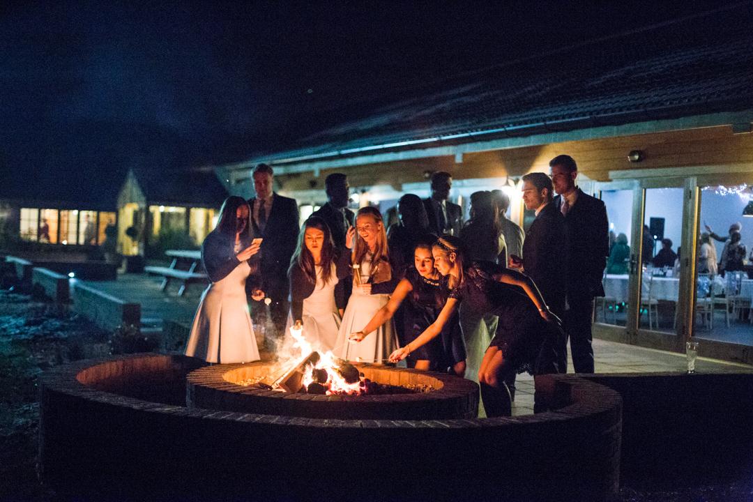 bonfire, Quantock Lakes