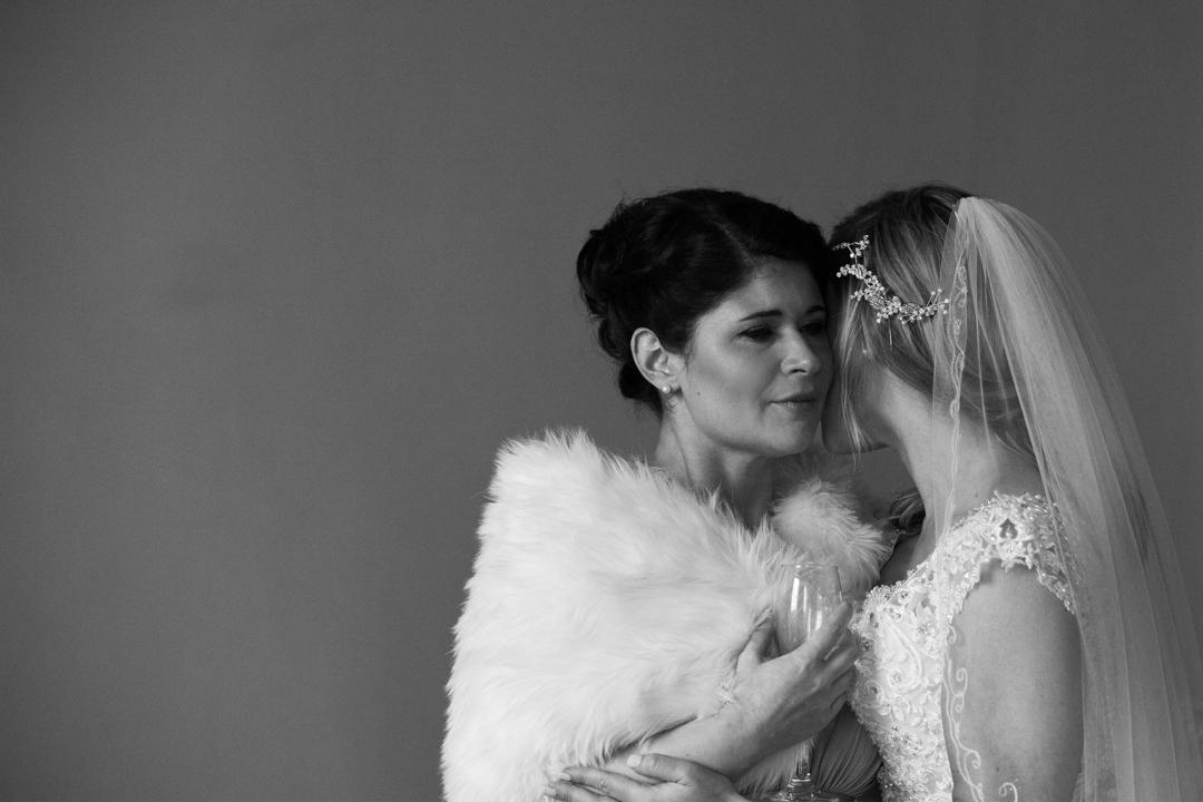 tears at a wedding