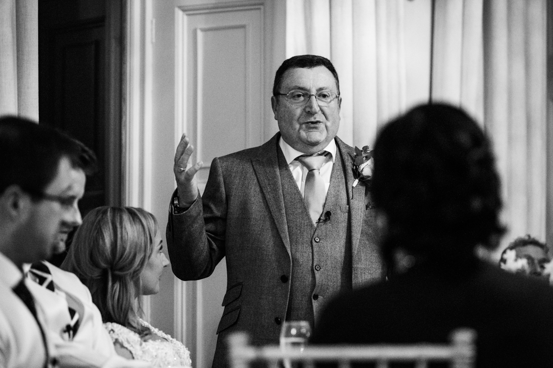 father of the bride speech black and white