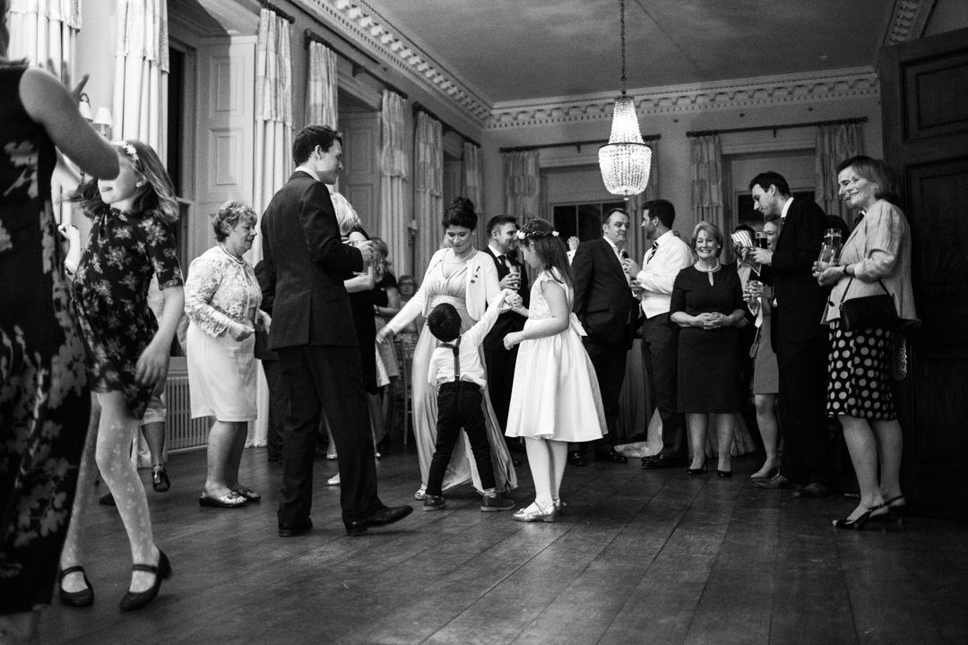 the wedding disco Pynes House