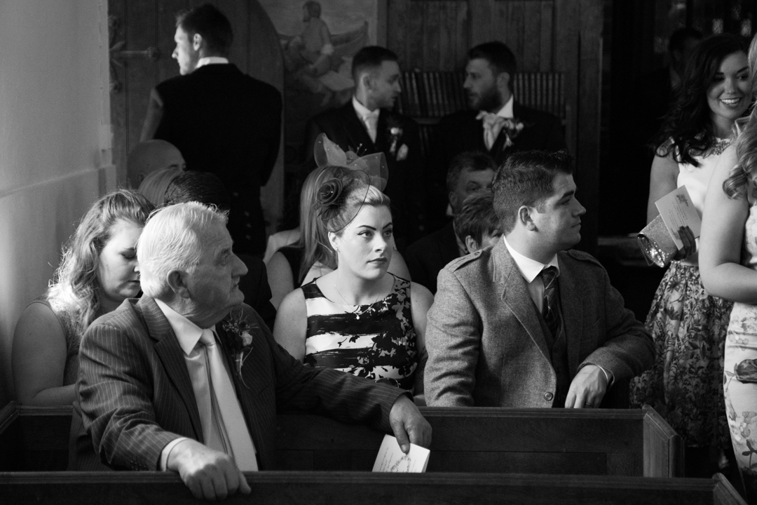guests at St. Andrews Church Hittisleigh