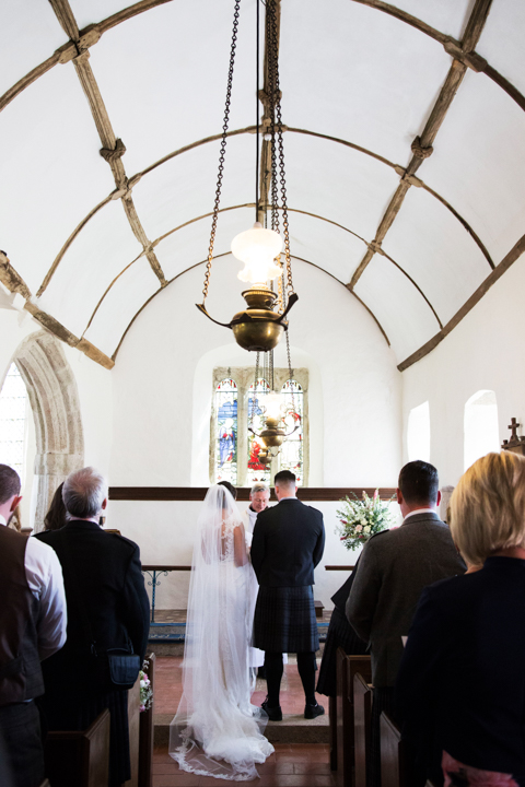 wedding at St. Andrews Church Hittisleigh