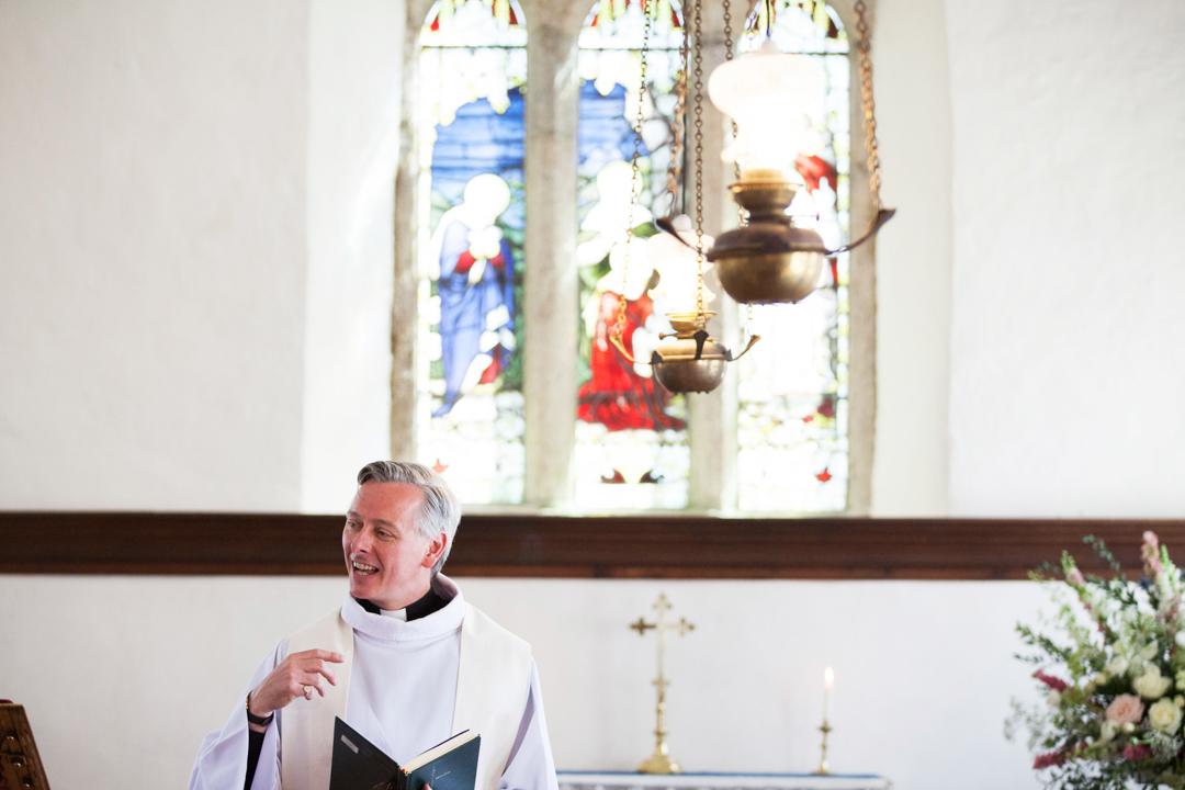 vicar at St. Andrews Church Hittisleigh