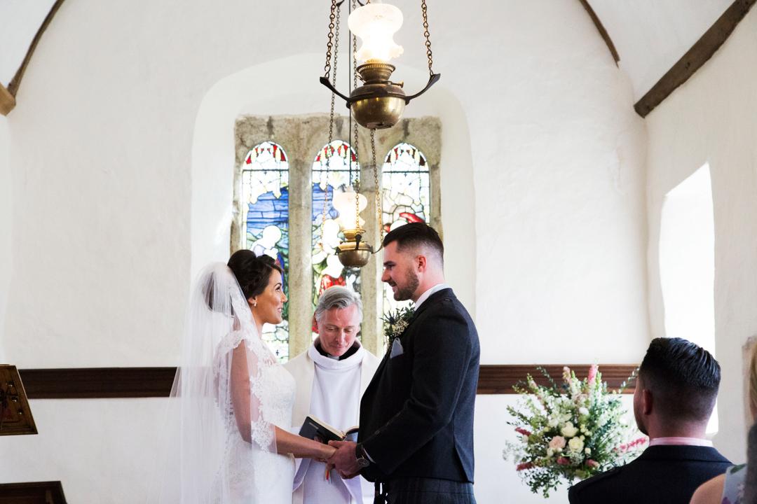 wedding vows St. Andrews Church Hittisleigh