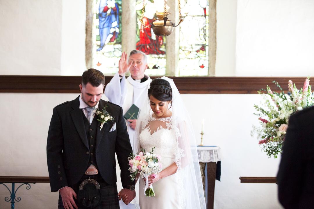 blessing St. Andrews Church Hittisleigh