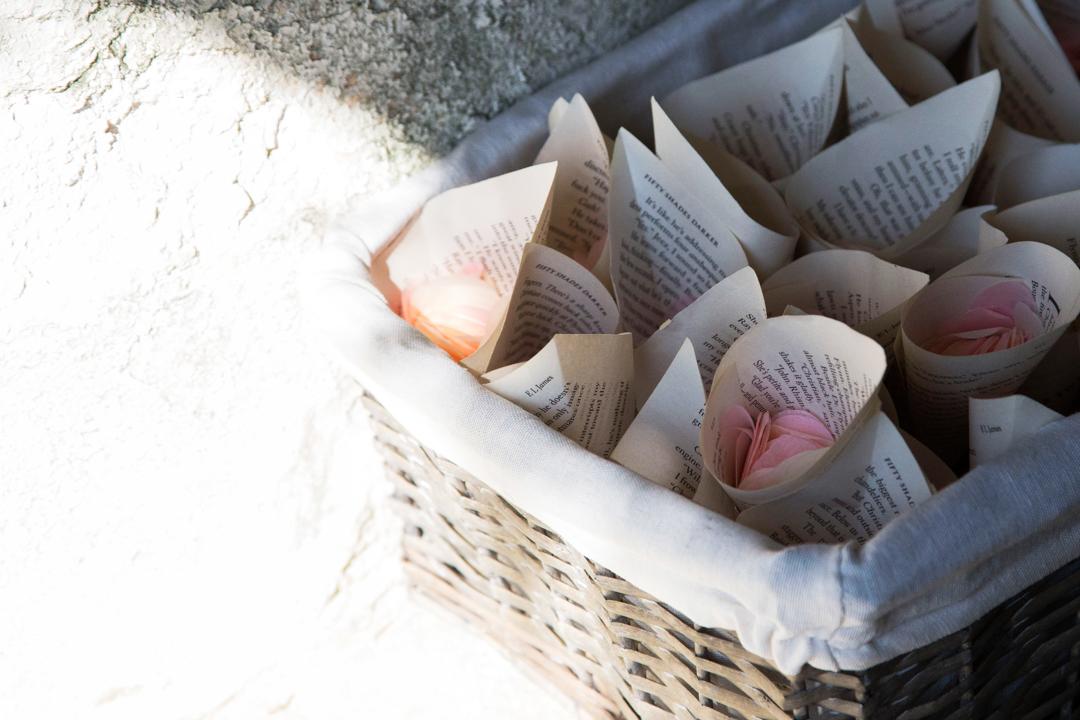 fifty shades darker confetti cones