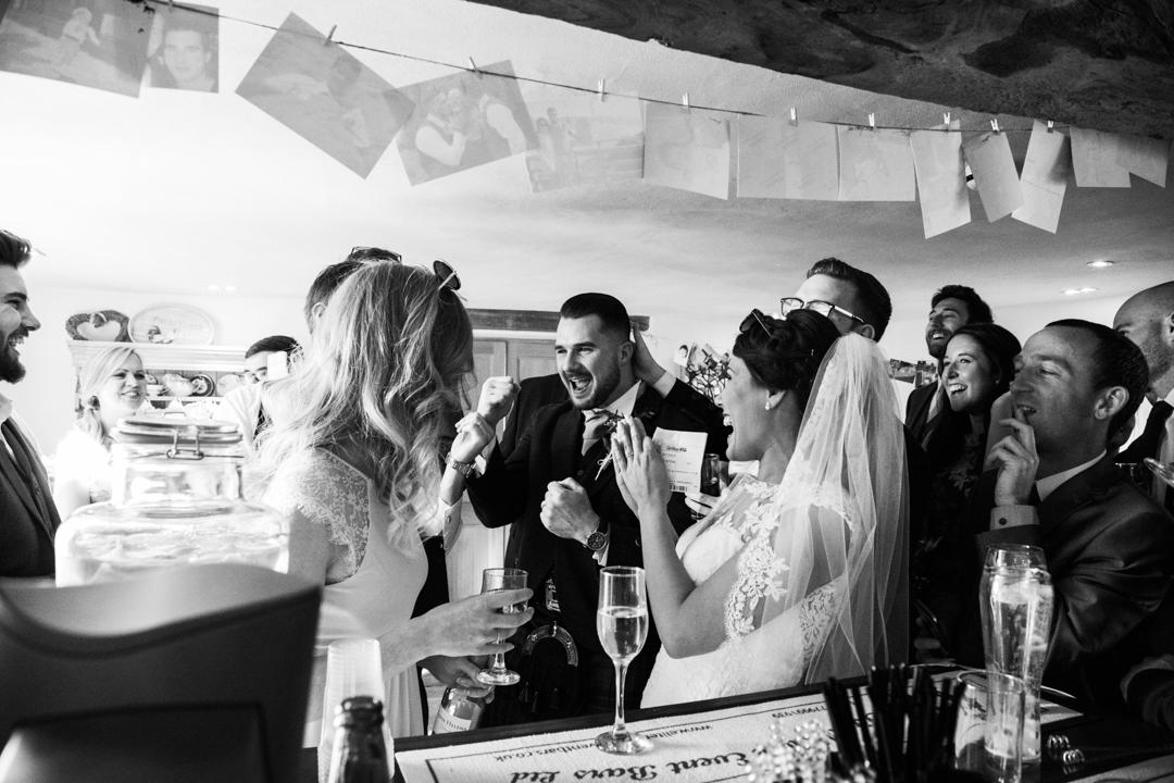 wedding day grand national win