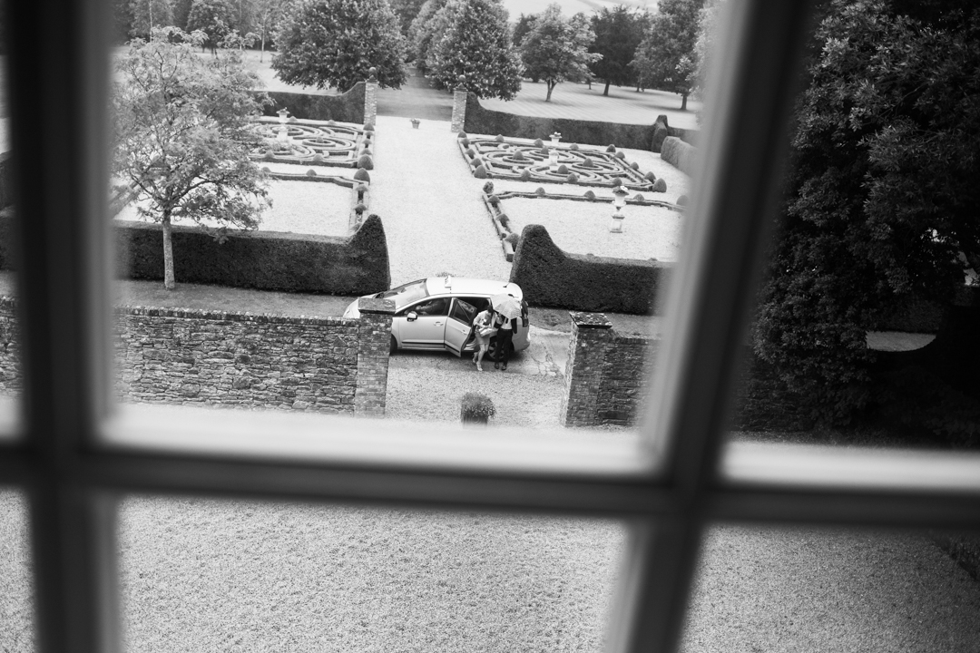 guests arriving Kingston Estate South Devon