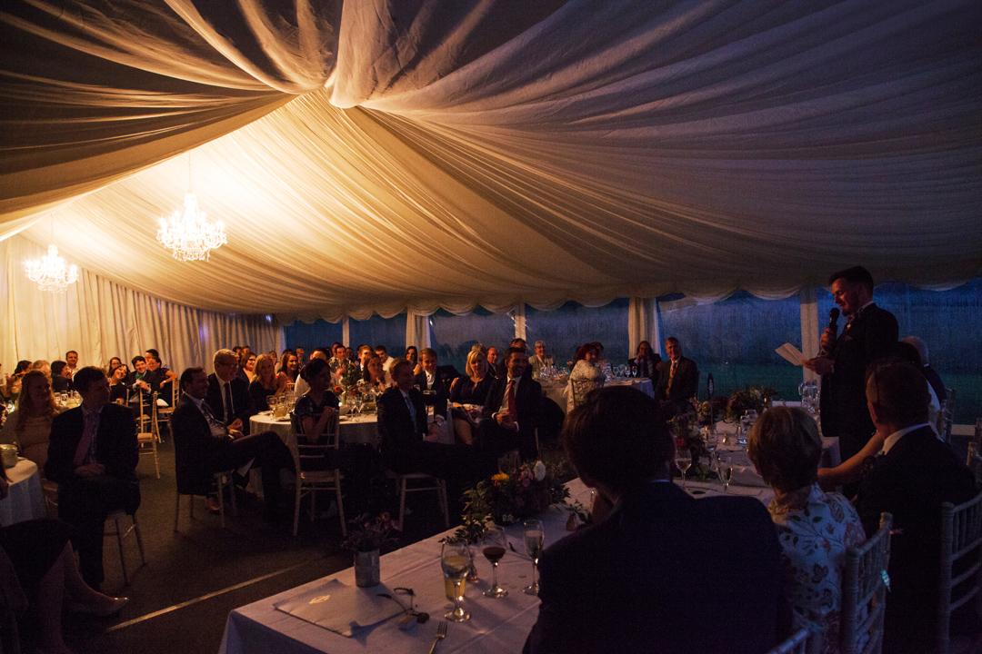 wedding speeches Quantock Lakes