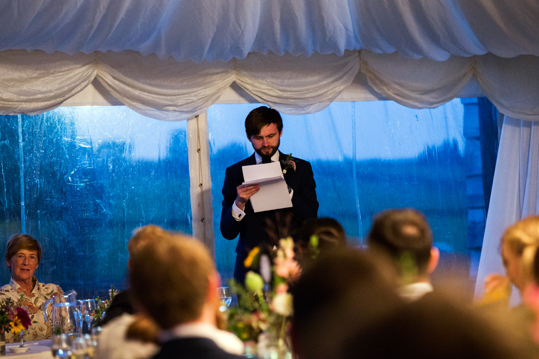best mans speech Quantock