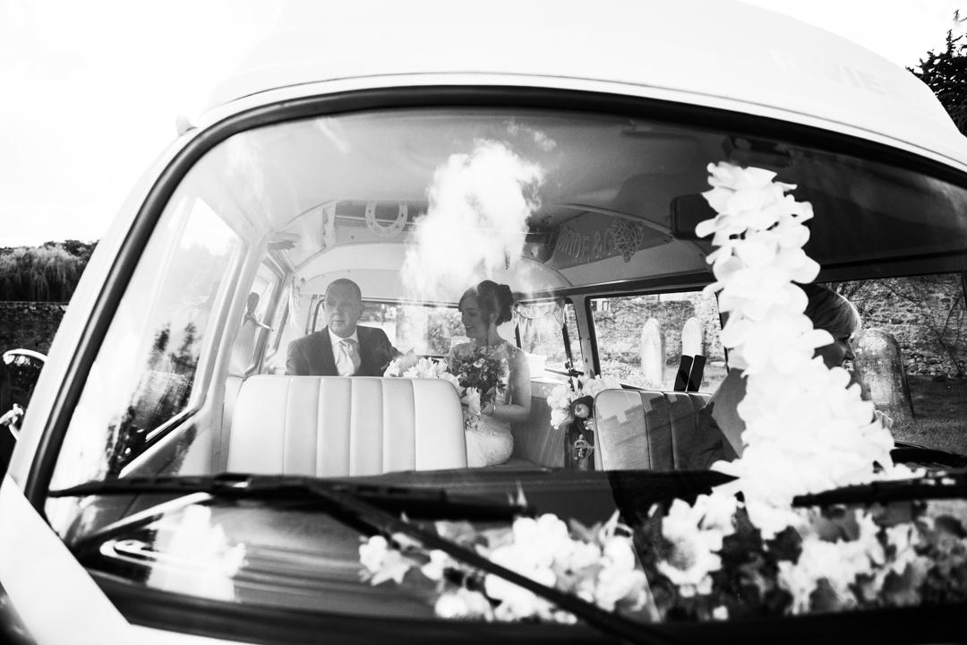 vw wedding camper van Somerset