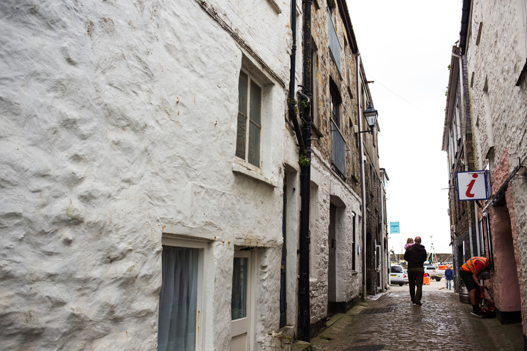 Mevagissey cobbled streets