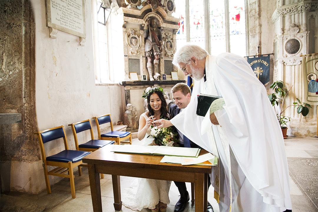 Exeter wedding